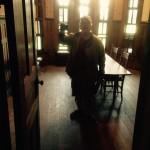 Inside the J. Sidna Allen Home is  Mark Clark ~ Historic Preservation Specialist