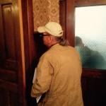 Mark Clark ~ HPS, inside the J. Sidna Allen Home