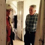Inside The J. Sidna Allen Home is Mark Clark ~ HPS with the President of the Carroll County Historical Society Mr. Ed Stanley