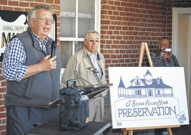 Plans announced to preserve Allen House