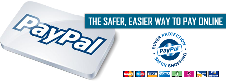 PayPal - Shop with confidence, knowing your financial information is secure no matter how you choose to pay.